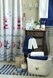 smlf find another beautiful images set with anchor sea and lighthouse shower curtain bathroom decor at nautical