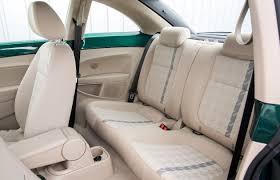 vw beetle coupe 2017 rear seats