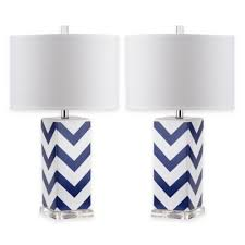 blue and white lamp shades navy shade from bed bath beyond 10