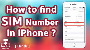 Find Or From Iphone Number Sim Hindi Iccid To Youtube How pBqy5wP4w