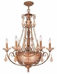 c5666 eg crystorama lighting hand cut etrusan gold with golden teak crystal chandelier
