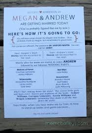 Fun Wedding Programs Fun Wedding Program Ideas Programs Wedding Reception Program