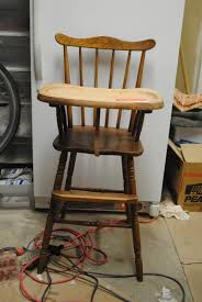 vintage wooden high chair cover best home decoration