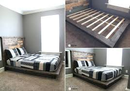 build your own bedroom furniture. Build Your Own Bed Wood Platform With Drawers . Bedroom Furniture D