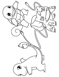 Pokemon Charmeleon Printable Coloring Pages