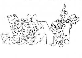 Small Picture Dalmatians On Christmas Joy Disney Coloring Pages Christmas