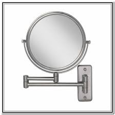 wall mounted lighted makeup mirror australia
