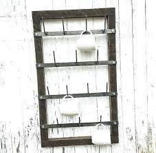 coffee mug holder wall mount coffee mug wall hanger mug rack cup rack drying rack metal