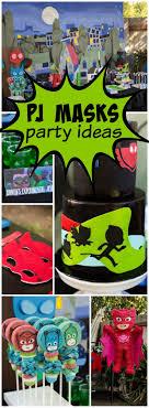 Pj Mask Party Decoration Ideas PJ Masks Birthday PJ Masks Birthday Party Pj mask Superhero 96