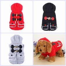 winter <b>pet dog</b> coat thick student style cotton coat clothes <b>dog cat</b> ...