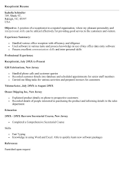 Vets Receptionist Resume Sales Receptionist Lewesmr. cover ...