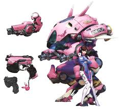 Dva Concept Design D Va Meka Concept Art From Overwatch Overwatch Game