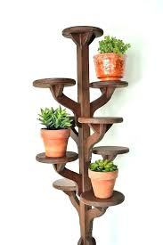 wood plant indoor outdoor plant stands for multiple plants vintage tall handmade wooden tiered stand corner wood plant