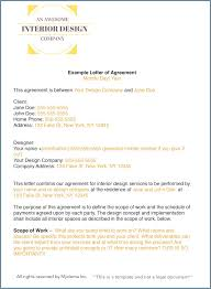 Interior Design Contract Template How to write an interior design letter of agreement or interior 1
