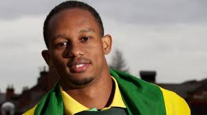 JAMAICAN 100m sprinter and Beijing gold medallist Michael Frater is aiming to use the Aviva London Grand Prix on July 13-14 to acclimatise to the conditions ... - Michael_Frater_flag
