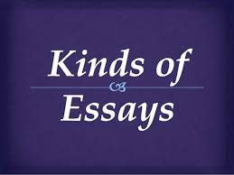 kind of essays when you are writing a definition essay you take a term or an  example