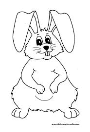 Lapin 86 Animaux Coloriages Imprimer