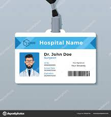 Medical Id Card Template Doctor Id Card Template Medical