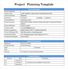 Program Proposal Template Best Free Project Plan Template Pdf Homefit