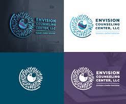 Envision Design Llc Upmarket Elegant Mental Health Logo Design For Envision