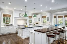 bright kitchen lighting. this bright white kitchen is lit by a constellation of embedded ceiling lighting and features