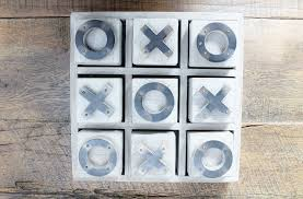Wooden Naughts And Crosses Game Artwood Wooden Noughts Crosses Home Decor Gift The Gift Loft 83