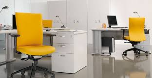 Yellow Office Tips To Make Your Office Look Attractive Blue Crown