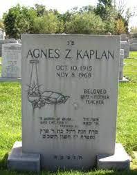 Agnes Zuhn Kaplan (1915-1968) - Find A Grave Memorial