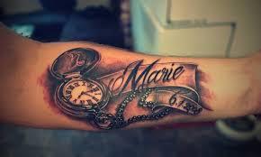 Tetování Písmo Tetování Tattoo