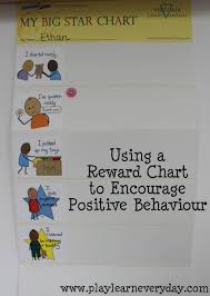 My Big Star Chart Using A Reward Chart To Encourage Positive Behaviour Play