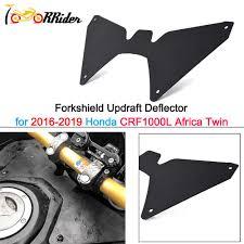 Moto 2018 2019 CRF1000L Africa Twin <b>Forkshield Updraft Wind</b> ...