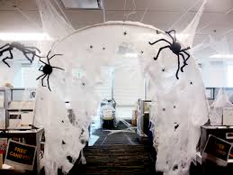 halloween office decorations. Halloween Cubicle Decorating Ideas Office Spider Hole Cubicleby Spiderhalloween Ideasdiy Home Design 19 Decorations I