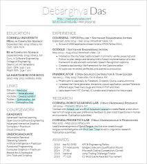 Latex Resume Template Software Engineer Developer Resume Template
