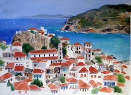 art by b greece paintings