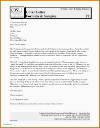 Cover Letter Format Enclosures Extraordinay Writing A Letter In Mla
