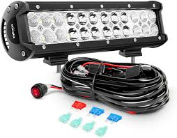 How To Wire Offroad Lights Without Relay Wiring Harness Off Road Led Spot Lights Light Bar Wiring