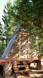 this tiny a frame cabin took 3 weeks to build and cost just 700