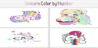 All you need to do is to select the image you preferred and print it out; Unicorn Color By Number Pixel Art Coloring Game Apps Bei Google Play