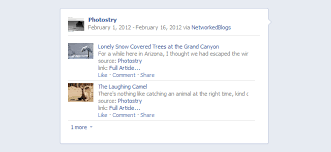 new facebook pages third party updates