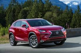 2015 lexus nx 300h. this undated photo made available by toyota shows the 2015 lexus nx 300h. (toyota nx 300h