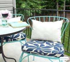 diy chair cushions outdoor easy sew project papasan cushion covers