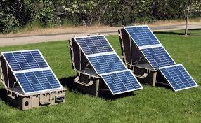 image result for portable solar generator
