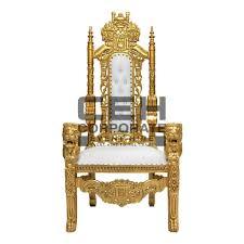 50 wedding chair hire lion throne bride groom king queen armchair gold
