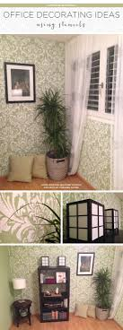 diy office decorating ideas. Cutting Edge Stencils Shares A DIY Stenciled Office Using The Anna Damask Stencil. Http: Diy Decorating Ideas N