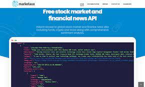 Stock market, crypto and forex news API ...