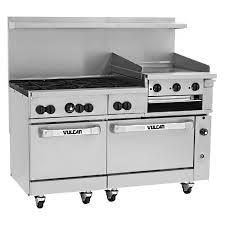 6 burner stove with double oven. Exellent Burner Vulcan 60SC6B24GB 60 For 6 Burner Stove With Double Oven O