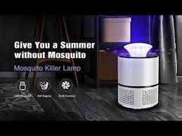 <b>HNW 018</b> Electric Mosquito Killer Lamp LED Bug Zapper - YouTube