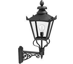 elstead grampian victorian outside wall lantern black gb1black