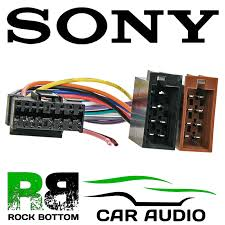 sony cdx series car radio stereo 16 pin wiring harness loom iso lead Sony Wiring Harness Colors sony cdx series car radio stereo 16 pin wiring harness loom iso lead ct21so01 1 of 1free shipping