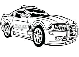 Car Colouring Pages Printable Free Disney Cars Police Coloring Page